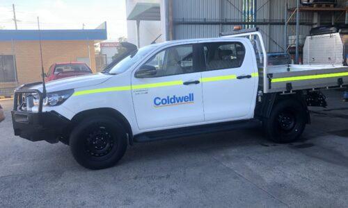 New logo hits Coldwell